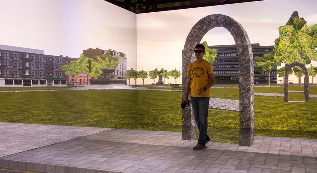 "Photo concerning ""Reorientation in Virtual Environments Using Interactive Portals"""