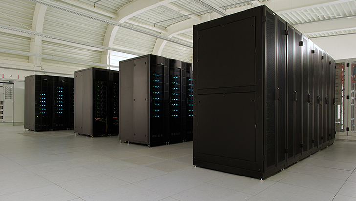 Foto of a Supercomputer