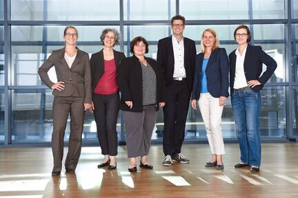 Gruppenfoto ERS-Management-Team