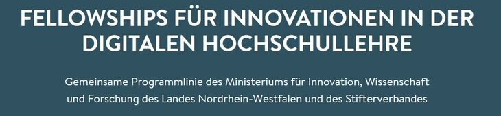 Fellowships für Innovationen in der digitalen Hochschullehre