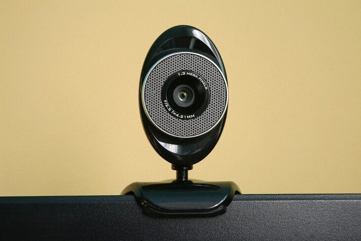 Photo of a webcam