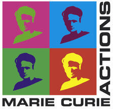 Graphic of Marie Curie